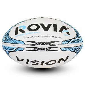 custom made rugby ball vision