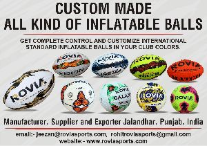 promotional and machine stitched balls