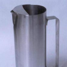 water serving metal jug