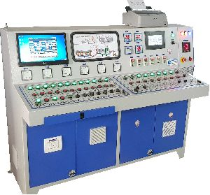 PLC Type Control Panel With Printer