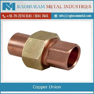 Copper Union Connectors
