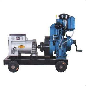 Single Phase Water Air Cooled Diesel Generator