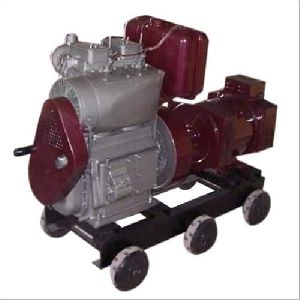 Three Phase Double Cylinder Air Cooled Diesel Generator