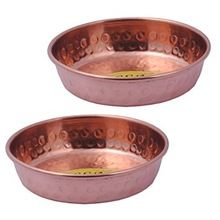Copper Hammered Mixing Dessert Bowl