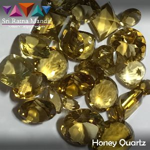 Honey Quartz Gemstones