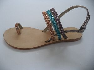 Ladies Leather Sandal