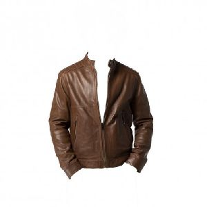 Mens Brown Leather Jacket