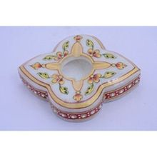 DIOS Flower Shape Marble Cigarettes Ashtray