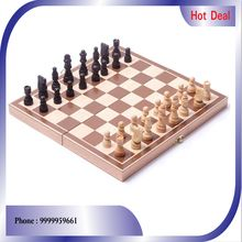 DIOS Wooden Magnetic chess game