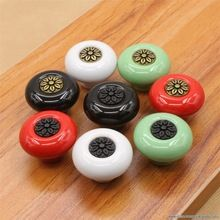 Mixed Multicolored Dotted Ceramic Door Knobs