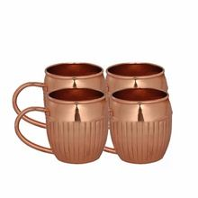 Moscow Mule Mug with Pure Solid Copper capacity