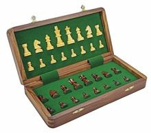NEW FOLDING MAGNETIC CHESS SET TRAVEL GAME