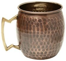 Pure Hammered Antique Finish Copper Moscow Mule