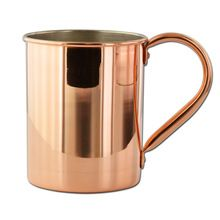 Tin-Lined Solid Copper Moscow Mule Mug
