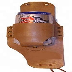 Leather carrying hip belt