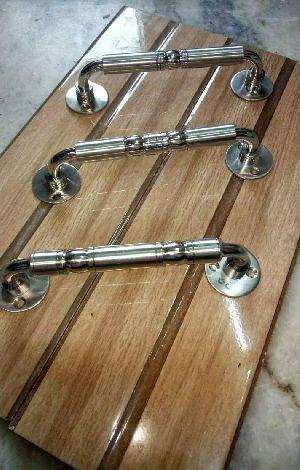 Brass Door Handle 01