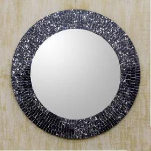 Mosaic Round Mirror Frame