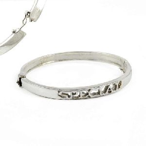 Ethnic 925 Sterling Bangle