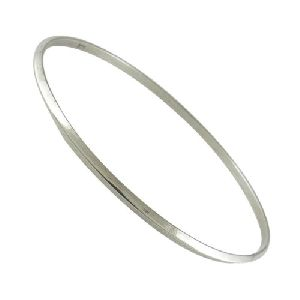 Big Delicate!! Handmade 925 Sterling Silver Bangle