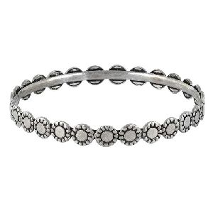 Good Fortune 925 Sterling Silver Bangle