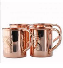 copper solid Moscow mule Mugs