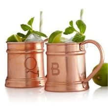 PLAIN COPPER MOSCOW MULE MUGS