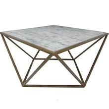 Metal Coffee Table in Square
