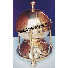 Brass Metal Full Round Chafing Dish