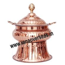 Caterers Copper Chafing dish