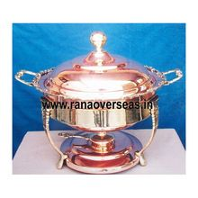Party used Copper Chafing Dish.