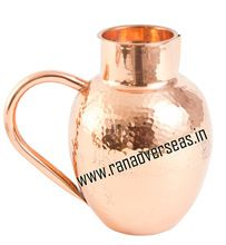 Pure Copper Thick and Round Water Jug