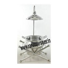 Silver Chafing Dish Lid Holder