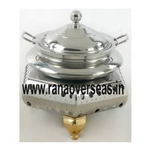 Stainless Steel Hexagonal Base Chafing Dish