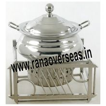 Stainless Steel Mughal Chafing Dish
