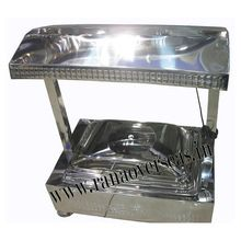Steel Chafing Dish Counter look Rectangle base