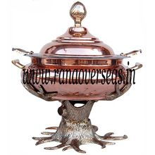 Tree Shape Copper Chafing dish