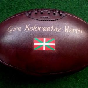 Antique Leather Rugby Ball