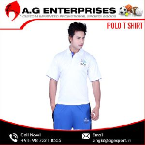 Cotton Dri-Fit New Design Polo T Shirt
