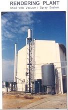 Barometric Spray For Waste Rendering Plant