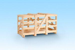 Pine Wood Crate Box