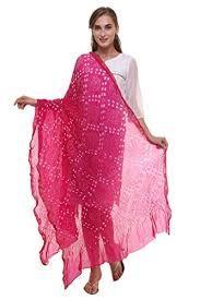 Bandhani Dupatta Fabric