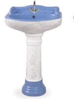 Designer Pedestal Wash Basin 01