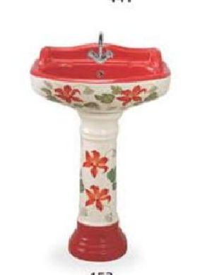 Designer Pedestal Wash Basin 17