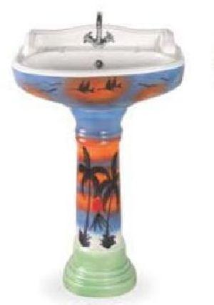 Designer Pedestal Wash Basin 21