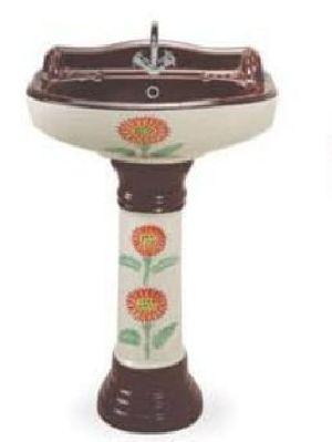Designer Pedestal Wash Basin 22