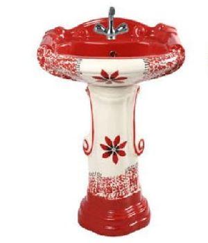 Printed Pedestal Wash Basin 01