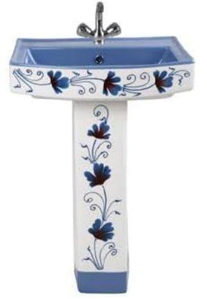 Printed Pedestal Wash Basin 02