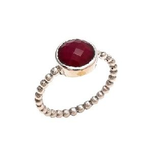 Awesome Dyed Ruby Ring All Time Jewelry