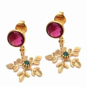 Pink Tourmaline Hydro Fashion Earring