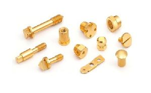 Brass Precision Turned Parts 01